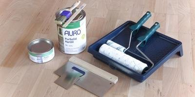 AURO Oils for wooden floors