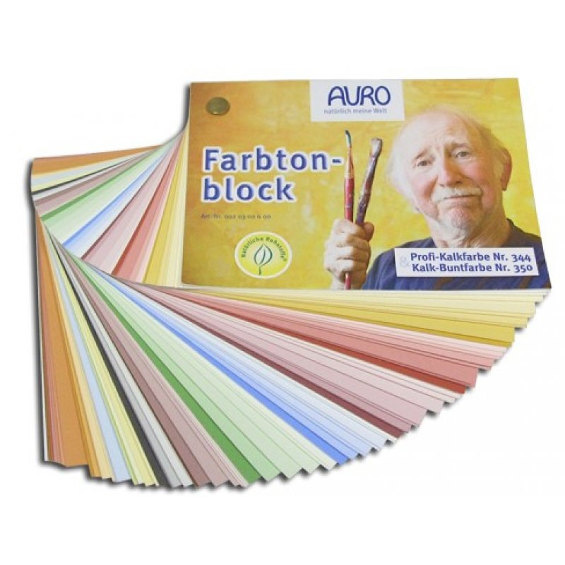 auro farbtonblock profi kalkfarbe nr 344 und kalk buntfarbe nr 35. Black Bedroom Furniture Sets. Home Design Ideas