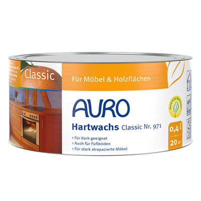 AURO Plant hard wax - Nr. 971