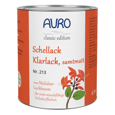 AURO Shellac varnish mate - Nr. 213