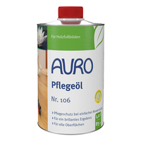 AURO Care oil - Nr. 106 - 1 liter - Nr. 106 - 1 liter
