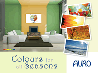 AURO-Colours for all Seasons - Wandgestaltung